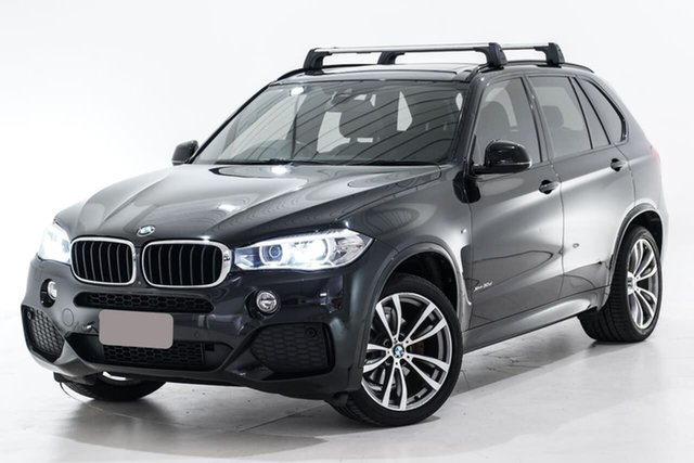 Used BMW X5 F15 xDrive30d Berwick, 2016 BMW X5 F15 xDrive30d Black 8 Speed Sports Automatic Wagon
