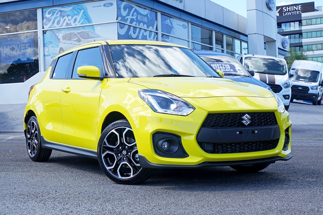 Demo Suzuki Swift AZ Series II Sport Springwood, 2021 Suzuki Swift AZ Series II Sport Yellow 6 Speed Manual Hatchback