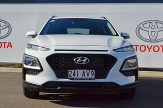 2020 Hyundai Kona OS.3 MY20 Active (FWD) White 6 Speed Automatic Wagon.