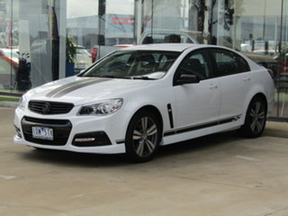 2014 Holden Commodore VF MY14 SV6 White 6 Speed Sports Automatic Sedan