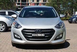 2015 Hyundai i30 GD4 Series 2 Active X Silver 6 Speed Automatic Hatchback