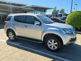 2016 Isuzu MU-X MY15 LS-T Rev-Tronic Silver 5 Speed Sports Automatic Wagon.
