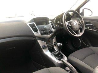 2012 Holden Cruze JH Series II MY12 CD Heron White 5 Speed Manual Sedan