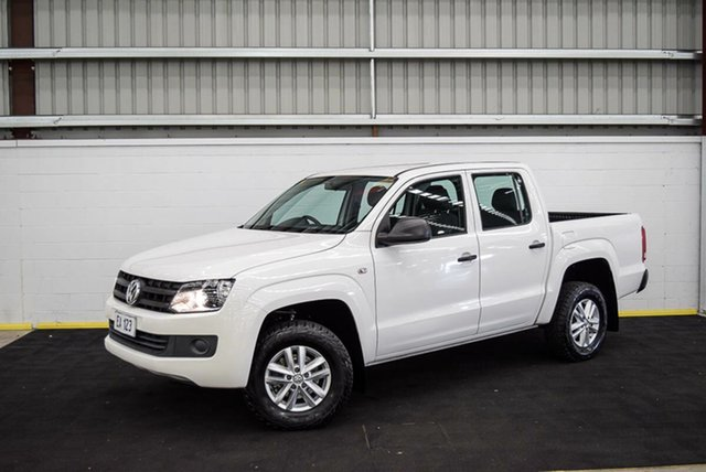 Used Volkswagen Amarok 2H MY15 TDI340 4x2 Canning Vale, 2015 Volkswagen Amarok 2H MY15 TDI340 4x2 White 6 Speed Manual Cab Chassis
