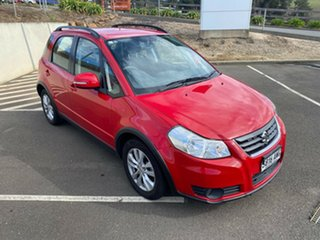 2012 Suzuki SX4 GYA MY11 S Red/Black 6 Speed Constant Variable Hatchback.