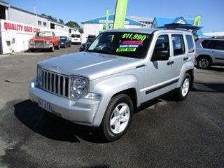 2011 Jeep Cherokee Silver 4 Speed Automatic Wagon.