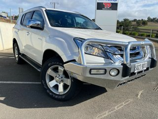 2014 Isuzu MU-X MY14 LS-T Rev-Tronic White 5 Speed Sports Automatic Wagon