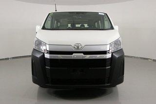 2019 Toyota HiAce GDH300R LWB White 6 Speed Automatic Van.