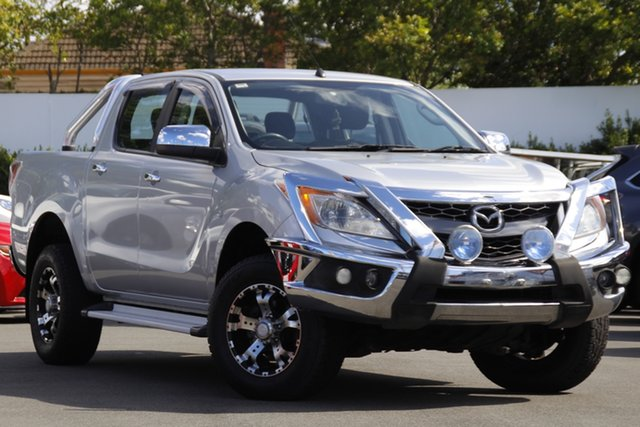 Used Mazda BT-50 UP0YF1 XTR Mount Gravatt, 2012 Mazda BT-50 UP0YF1 XTR Silver 6 Speed Sports Automatic Utility