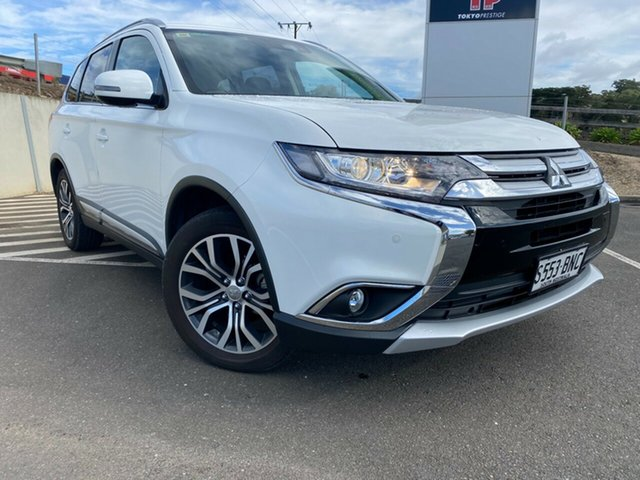 Used Mitsubishi Outlander ZK MY17 LS 2WD Safety Pack Totness, 2016 Mitsubishi Outlander ZK MY17 LS 2WD Safety Pack White 6 Speed Constant Variable Wagon