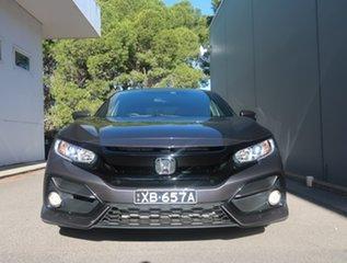 2020 Honda Civic 10th Gen MY20 VTi-L Grey 1 Speed Constant Variable Sedan.