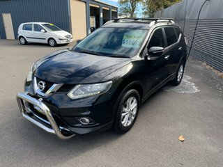 2014 Nissan X-Trail T32 ST-L X-tronic 2WD Black 7 Speed Constant Variable Wagon.