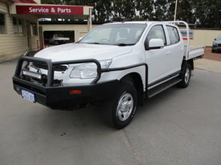 2015 Holden Colorado RG  LS 4x4 White 6 Speed Automatic Dual Cab.
