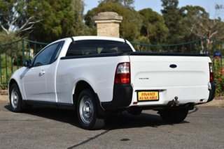 2009 Ford Falcon FG Ute Super Cab White 5 Speed Automatic Utility