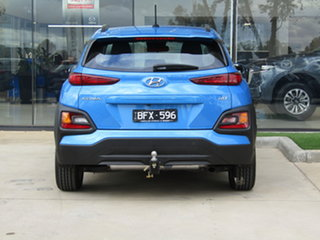 2018 Hyundai Kona OS MY18 Active D-CT AWD Blue 7 Speed Sports Automatic Dual Clutch Wagon