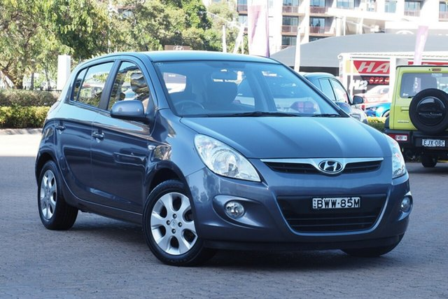 Used Hyundai i20 PB MY11 Elite Rosebery, 2011 Hyundai i20 PB MY11 Elite Grey 4 Speed Automatic Hatchback