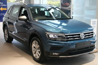 2020 Volkswagen Tiguan 5N MY20 110TSI Comfortline DSG 2WD Allspace Blue 6 Speed.