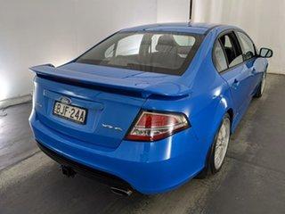 2009 Ford Falcon FG XR6 Blue 5 Speed Sports Automatic Sedan
