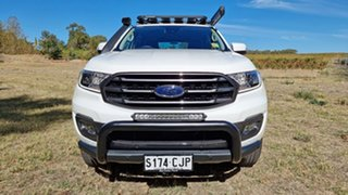 2020 Ford Everest UA II 2021.25MY Trend Arctic White 6 Speed 2ED SUV.