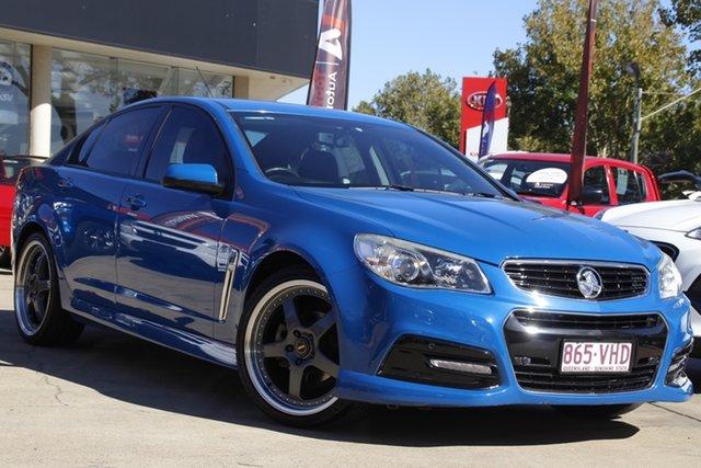 Used Holden Commodore VF MY14 SV6 Toowoomba, 2014 Holden Commodore VF MY14 SV6 Blue 6 Speed Sports Automatic Sedan