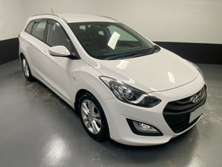 2015 Hyundai i30 GD Active Tourer White 6 Speed Sports Automatic Wagon.