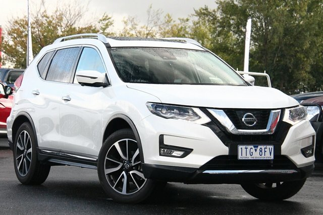Used Nissan X-Trail T32 Series III MY20 Ti X-tronic 4WD Essendon Fields, 2020 Nissan X-Trail T32 Series III MY20 Ti X-tronic 4WD White 7 Speed Constant Variable Wagon