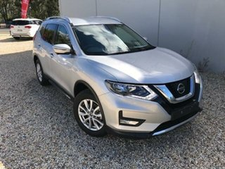 2020 Nissan X-Trail T32 MY20 ST-L (4x2) Silver Continuous Variable Wagon.