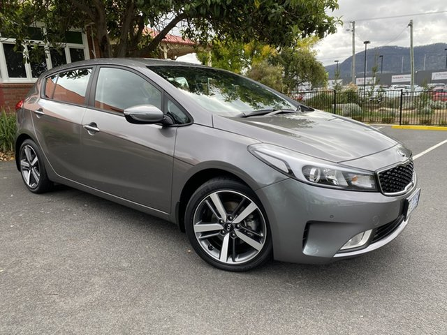 Used Kia Cerato YD MY17 Sport Glenorchy, 2017 Kia Cerato YD MY17 Sport Grey 6 Speed Sports Automatic Hatchback