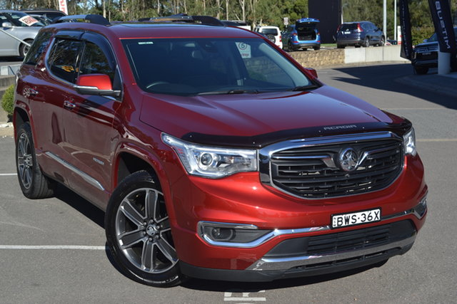 Used Holden Acadia AC MY19 LTZ-V AWD Maitland, 2019 Holden Acadia AC MY19 LTZ-V AWD Red 9 Speed Sports Automatic Wagon