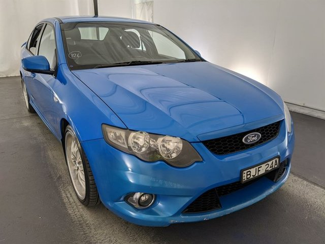 Used Ford Falcon FG XR6 Maryville, 2009 Ford Falcon FG XR6 Blue 5 Speed Sports Automatic Sedan