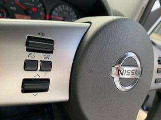 2014 Nissan Navara D40 S8 RX White 6 Speed Manual Utility