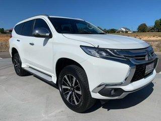 2017 Mitsubishi Pajero Sport QE MY17 Exceed White 8 Speed Sports Automatic Wagon.