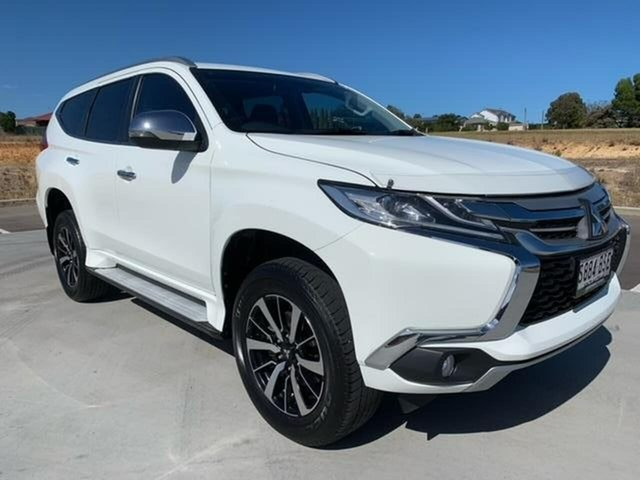 Used Mitsubishi Pajero Sport QE MY17 Exceed Victor Harbor, 2017 Mitsubishi Pajero Sport QE MY17 Exceed White 8 Speed Sports Automatic Wagon