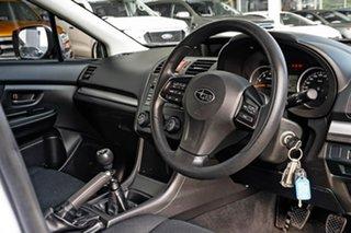 2012 Subaru Impreza G4 MY12 2.0i AWD Silver 6 Speed Manual Hatchback.