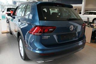 2020 Volkswagen Tiguan 5N MY20 110TSI Comfortline DSG 2WD Allspace Blue 6 Speed