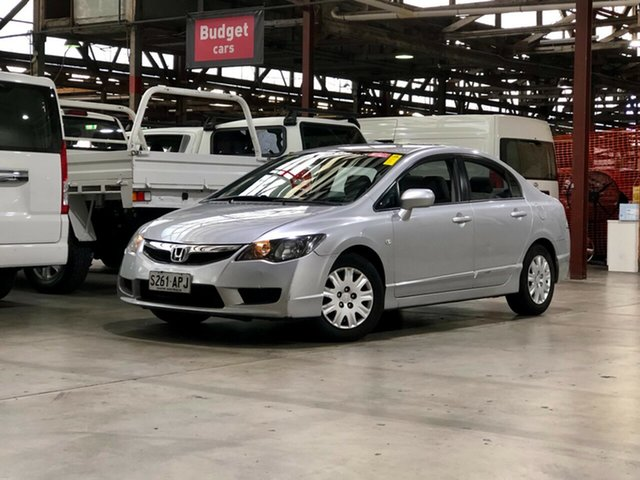 Used Honda Civic 8th Gen MY09 VTi Mile End South, 2009 Honda Civic 8th Gen MY09 VTi Silver 5 Speed Automatic Sedan