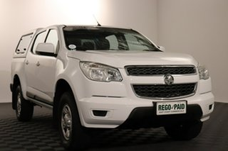 2015 Holden Colorado RG MY15 LS Crew Cab 4x2 White 6 speed Automatic Utility.