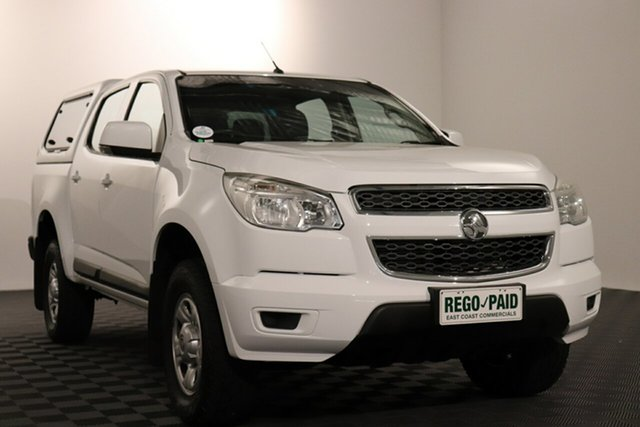 Used Holden Colorado RG MY15 LS Crew Cab 4x2 Acacia Ridge, 2015 Holden Colorado RG MY15 LS Crew Cab 4x2 White 6 speed Automatic Utility