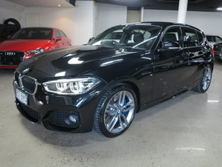 2015 BMW 1 Series F20 LCI 125i M Sport Sappireblack 8 Speed Sports Automatic Hatchback.