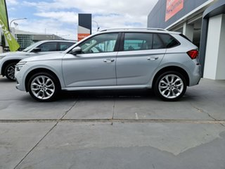2020 Skoda Kamiq NW MY21 85TSI DSG FWD Brilliant Silver 7 Speed Sports Automatic Dual Clutch Wagon