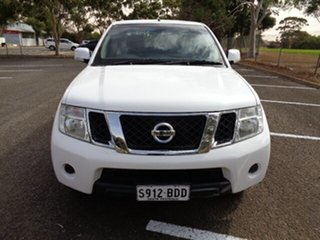 2014 Nissan Navara D40 S6 MY12 ST 4x2 White 6 Speed Manual Utility.
