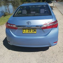 2016 Toyota Corolla ZRE172R Ascent Blue 7 Speed Constant Variable Sedan.