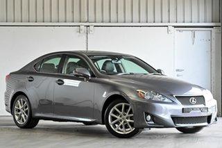 2012 Lexus IS GSE20R MY11 IS250 Prestige Grey 6 Speed Sports Automatic Sedan.