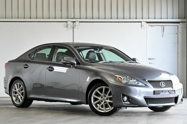Used Lexus IS GSE20R MY11 IS250 Prestige Laverton North, 2012 Lexus IS GSE20R MY11 IS250 Prestige Grey 6 Speed Sports Automatic Sedan