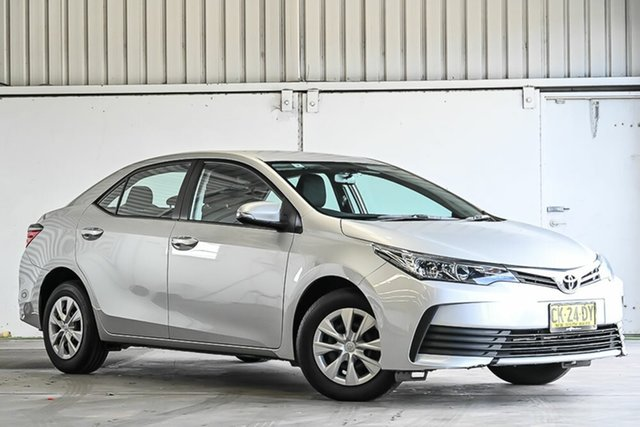 Used Toyota Corolla ZRE172R Ascent S-CVT Laverton North, 2016 Toyota Corolla ZRE172R Ascent S-CVT Silver 7 Speed Constant Variable Sedan