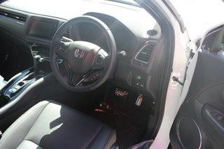 2021 Honda HR-V MY21 RS Platinum White 1 Speed Constant Variable Hatchback.