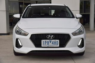 2019 Hyundai i30 PD2 Active White Sports Automatic Hatchback.