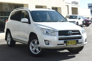 2011 Toyota RAV4 ACA38R MY11 Altitude 4x2 White 5 Speed Manual Wagon.