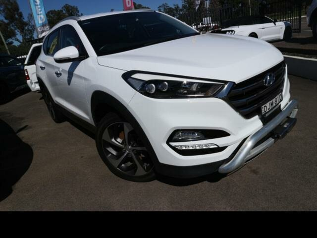 Used Hyundai Tucson TLE Elite R-Series (AWD) Kingswood, 2016 Hyundai Tucson TLE Elite R-Series (AWD) White 6 Speed Automatic Wagon