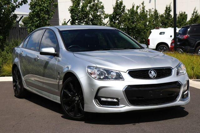 Used Holden Commodore VF II MY16 SV6 Essendon Fields, 2015 Holden Commodore VF II MY16 SV6 Silver 6 Speed Sports Automatic Sedan